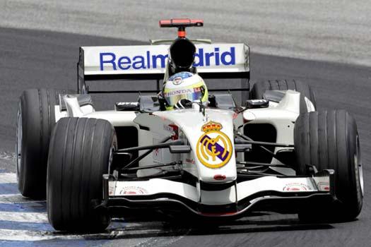 El monoplaza del Real Madrid de F1