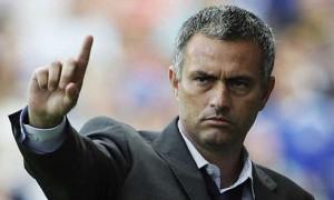 José Mourinho cagando