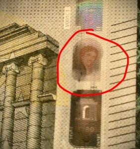 Ecce Homo en los nuevos billetes de 5 euros