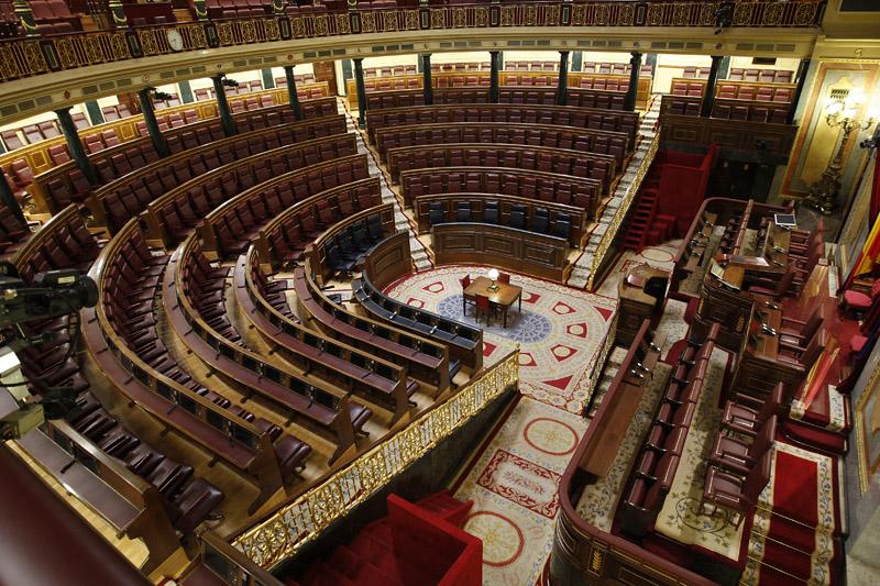 3 meses de vacaciones en el congreso de los diputados