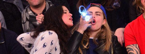 Michelle Rodríguez y Cara Delevingne mas ciegas que Lindsay Lohan