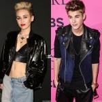 Miley Cyrus Jutin Bieber juntos