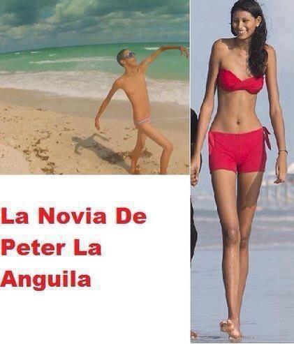 La novia de Peter La Anguila no era esta