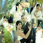 La boda de Peter La Anguila con Yenia Martínez