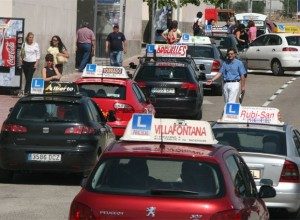 Coche autoescuela Rajoy