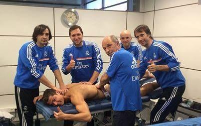 Encuentrar un nuevo músculo en Cristiano Ronaldo