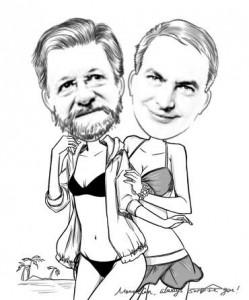 MomentCam Rajoy y Zapatero