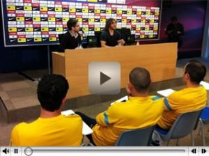 Rueda de prensa Carles Puyol