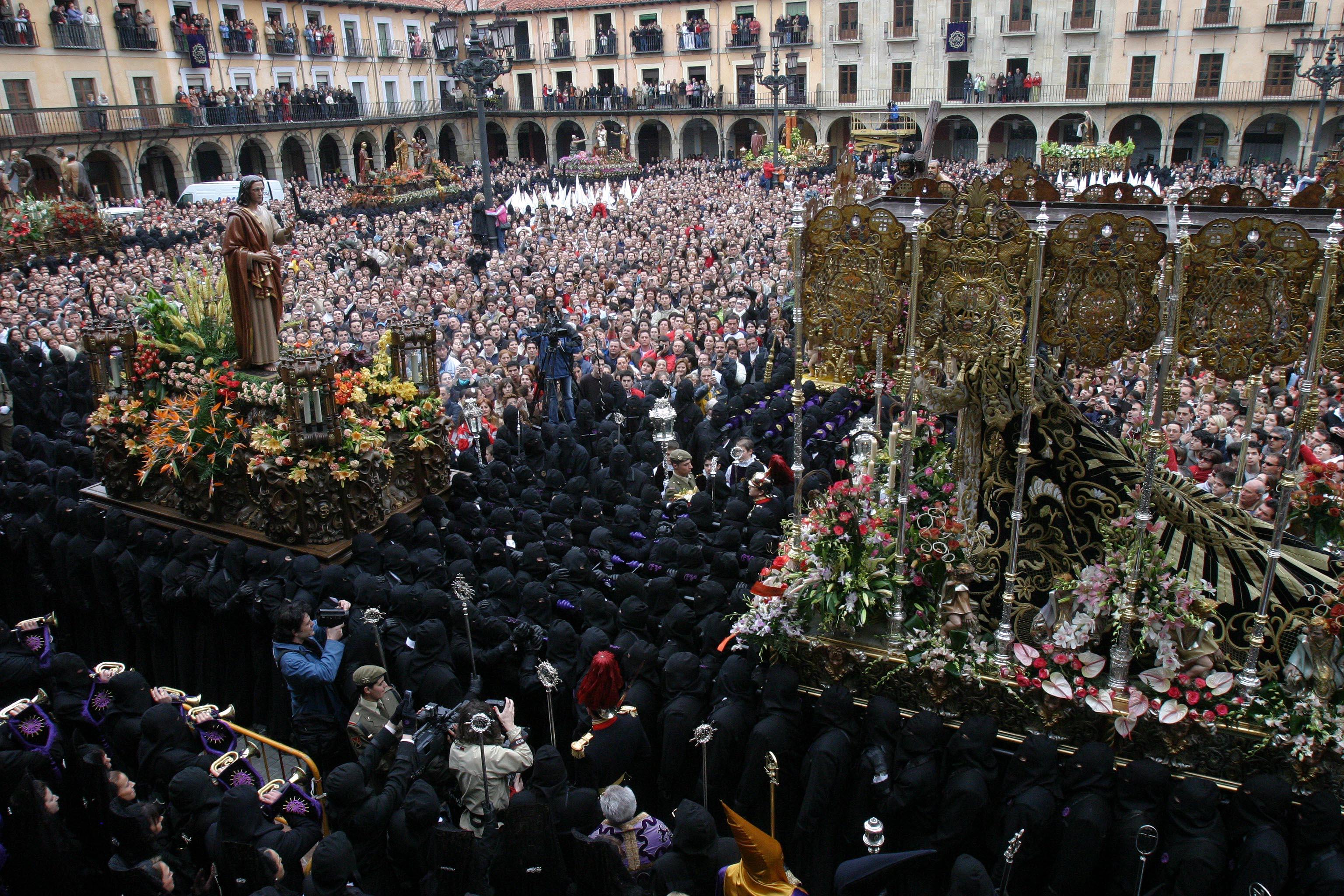 Semana santa Madrid. Zombies