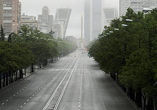 Madrid vacía