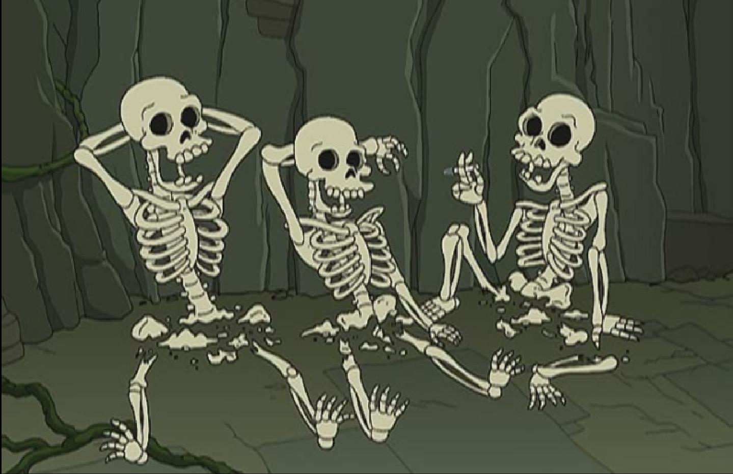 Muerte por kiki futurama