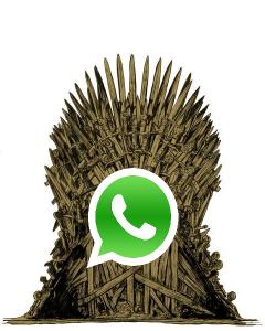 Juego de Tronos en Whatsapp