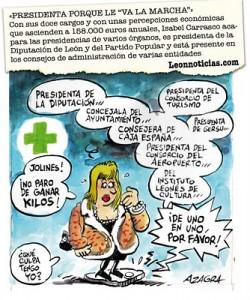 Isabel Carrasco El Jueves