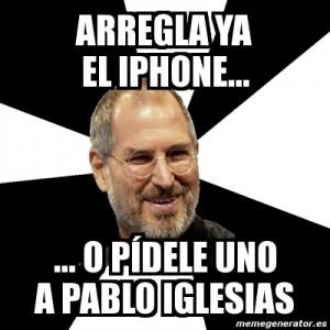 Pablo Iglesias Steve Jobs