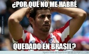 Meme de Diego Costa