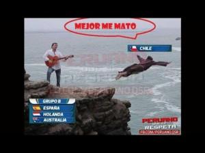 Memes Brasil 2014, Chile al ver su grupo