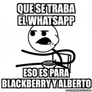 Meme WhatsApp blackberry
