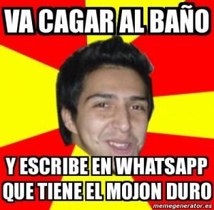 Meme WhatsApp cagar