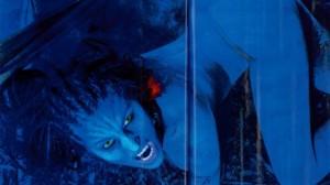 Vicky Xipolitakis disfrazada de Avatar