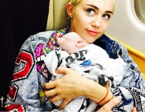 Miley Cyrus cerdilla
