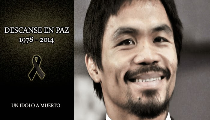 Muere Manny Pacquiao