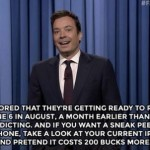 jimmy fallon precio iPhone