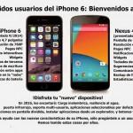 comparación iPhone 6