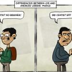 Chistes Andoird vs iPhone
