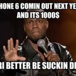 chiste siri iPhone