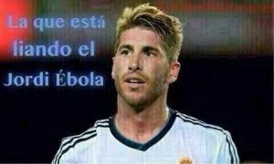Sergio Ramos ébola
