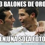 Meme Cristiano Arbeloa Balón de oro