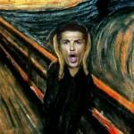 Meme Grito de Cristiano Ronaldo