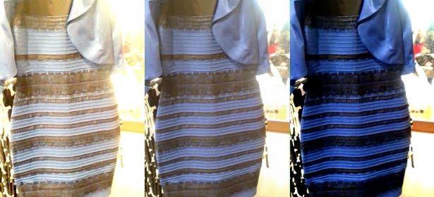 Vestido blanco y dorado o azul y negro
