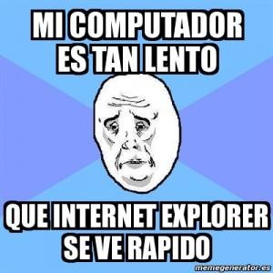 Internet explorer lento