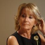 """Esperanza Aguirre pide a los españoles de bien que eviten """"por todos los medios"""" que Carmena sea Alcaldesa"""