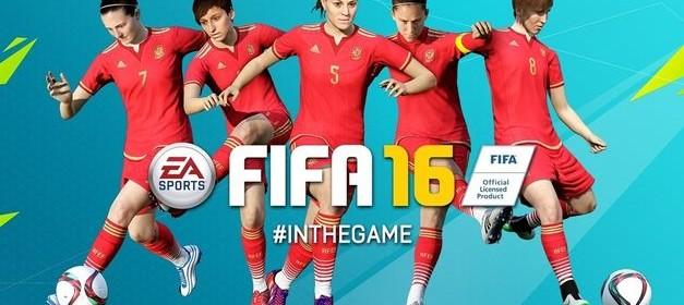 Selección Española Femenina en el FIFA 2016