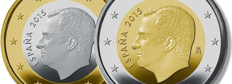Felipe VI moneda euro