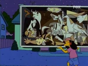 Gernika Simpsons