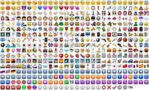 Iconos originales de WhatsApp