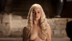 Imagen de Daenerys Targaryen desnuda