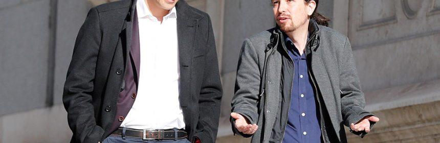 Pedro Sánchez piensa en irse a Podemos