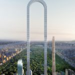 Nuevo rascacielos con forma de U invertida en Nueva York