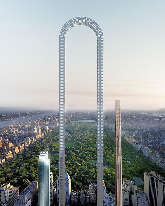rascacielos forma de u