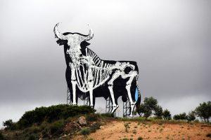 Toro de Osborne Esqueleto