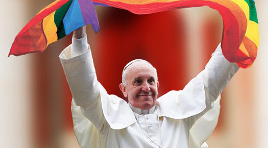 Papa bandera gay