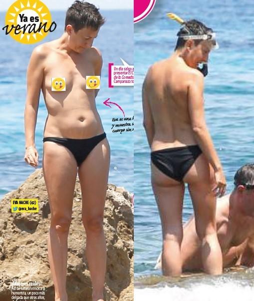Eva Hache topless