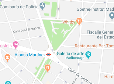 donde aparcar fuera de Madrid Central