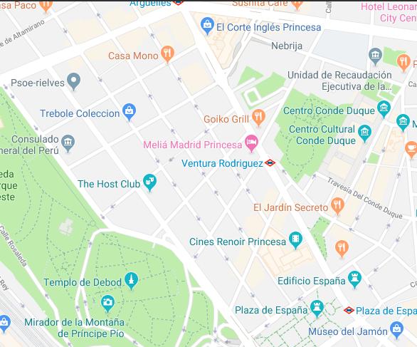 donde aparcar cerca de Madrid Central
