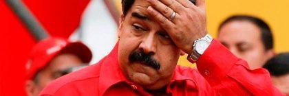 Maduro huye de Venezuela