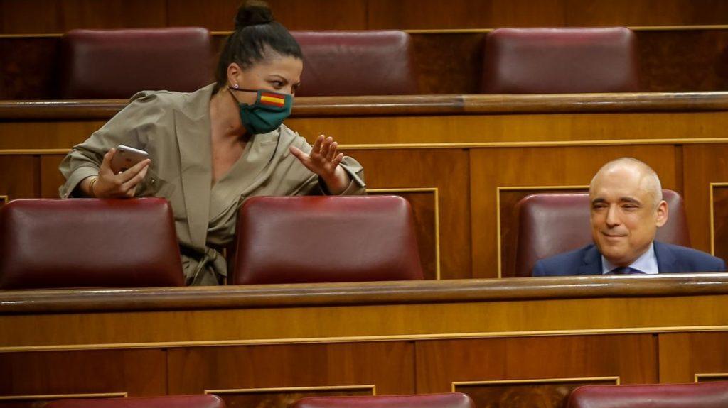Macarena Olona se acerca a Simancas con cuidado